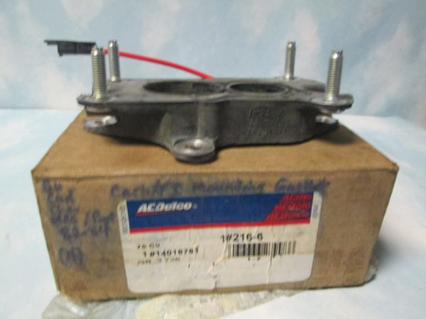 216-6 CARBURETOR HEAT INSULATOR NEW AC DELCO