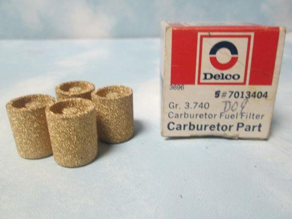 7013404 AC DELCO CARBURETOR FUEL FILTERS