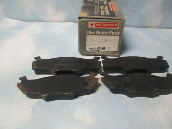 D158 FRONT DISC PADS MOTORMASTER