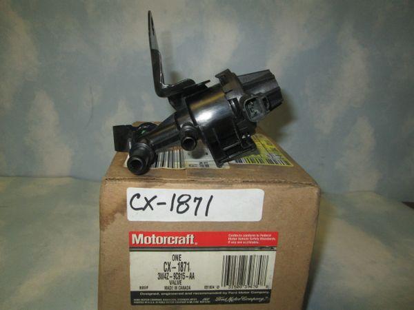 CX-1871 3W4Z-9C915-AA MOTORCRAFT PURGE CANISTER VALVE NEW