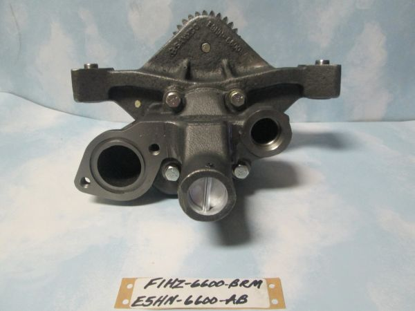 F1HZ-6600-BRM/E5HN-6600-AB FORD OIL PUMP 7.8L WITH PICK UP TUBE TRUCK REAR SUMP NOS
