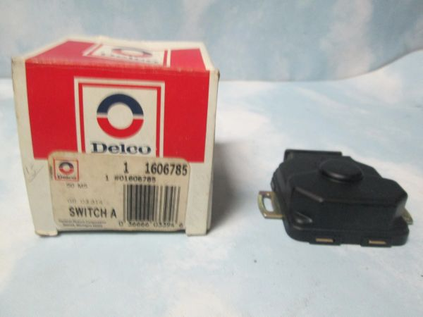 1606785 AC DELCO CADILLAC THROTTLE POSITION SENSOR NOS