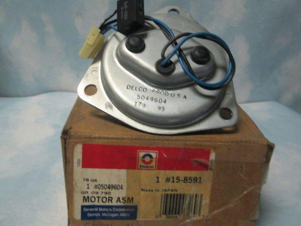 15-8591 AC DELCO HVAC BLOWER MOTOR REAR