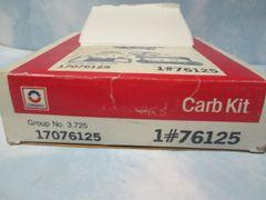 76125 AC DELCO CARB REBUILT ROCHESTER KIT