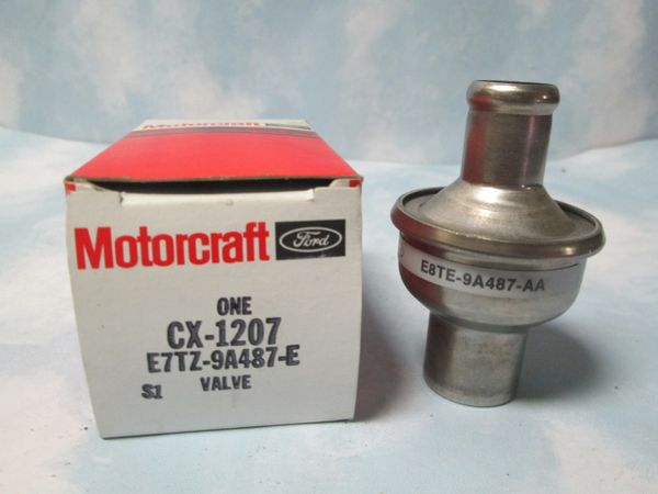 CX-1207 MOTORCRAFT CHECK VALVE NEW