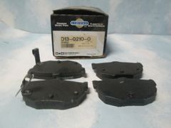 D323 DISC BRAKE PADS REAR