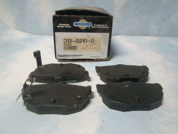 D323 DISC BRAKE PADS REAR
