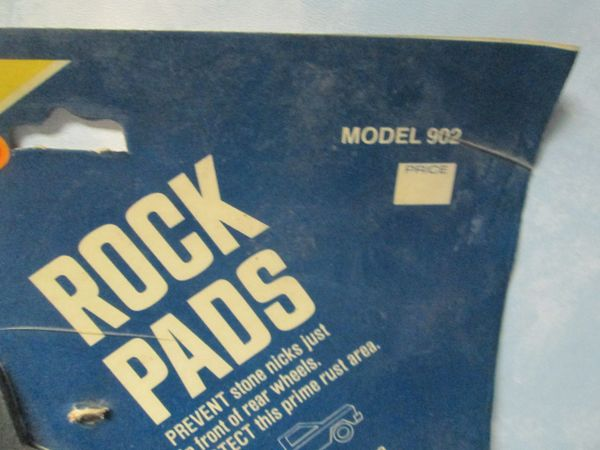 902 J-MARK ROCK PADS GMC TRUCK NOS