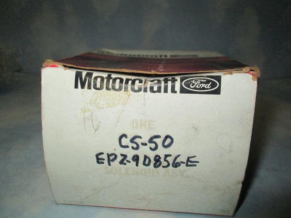 CS-50 MOTORCRAFT SOLENOID NEW