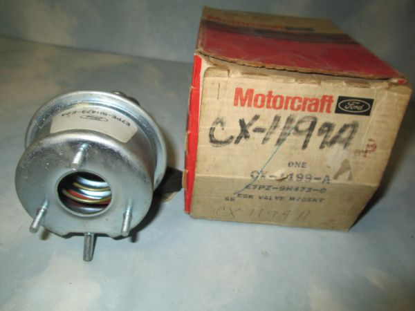 CX-1199-A MOTORCRAFT EGR VALVE NEW