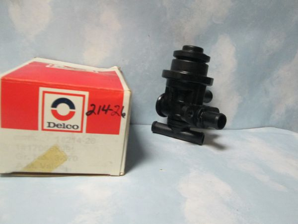 214-26 AC DELCO DIVERTER VALVE NEW