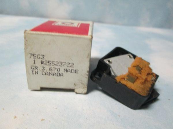 25523722 AC DELCO EGR VACUUM SOLENOID NEW