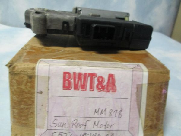 MM878 MOTORCRAFT SUNROOF MOTOR NEW