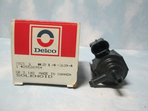 214-394 AC DELCO VAPOR CANISTER SOLENOID