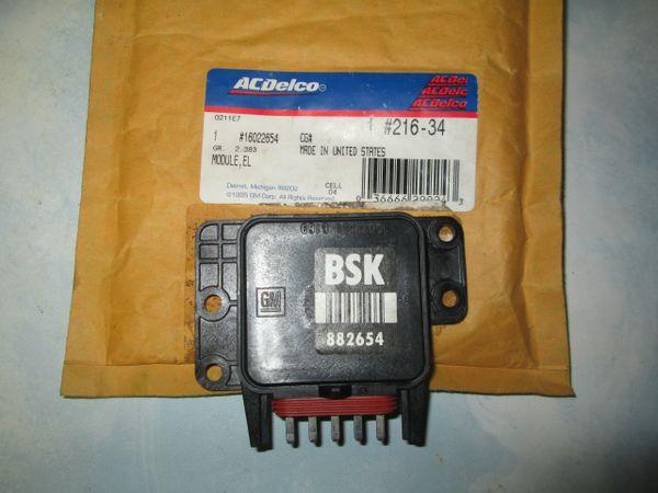 216-34 AC DELCO CONTROL MODULE KIT 02-07 Buick 3.8L NEW