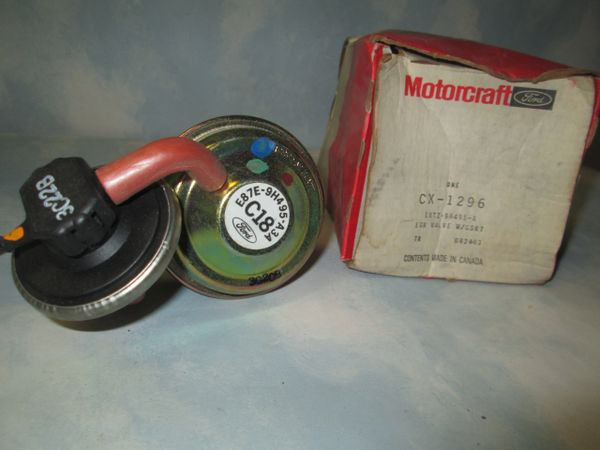 CX-1296 MOTORCRAFT EGR VALVE NEW RANGER