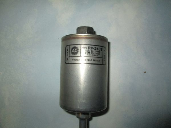 PF2189 AC DELCO POWERSTERRING FILTER NEW