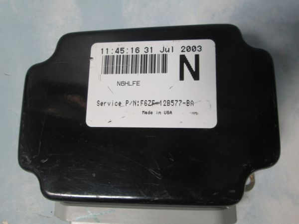 "F6ZF-12B577-BA ""N"" FORD MUSTANG RELAY CONTROL MODULE NEW"