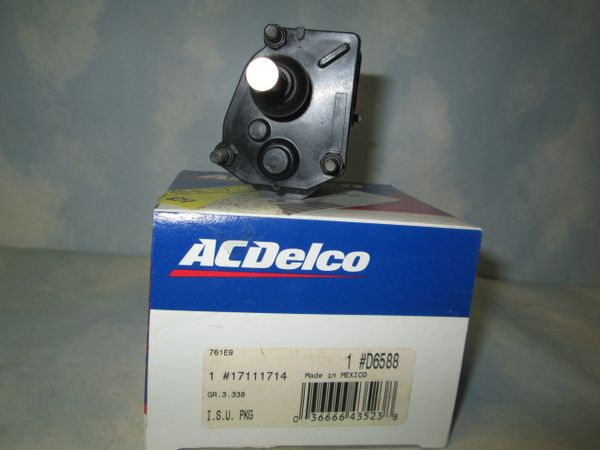D6588 17111714 AC DELCO FUEL AIR IDLE CONTROL VALVE NEW