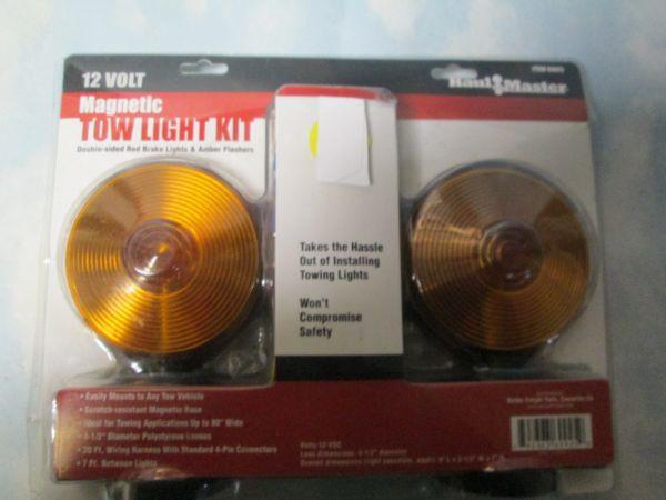 69925 HAUL MASTER MAGNETIC TOW LIGHT KIT NEW
