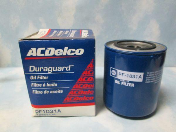 PF1031A AC DELCO OIL FILTER NEW