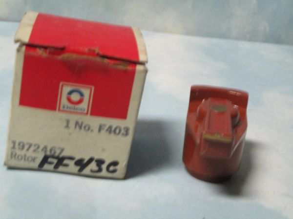 F403 DELCO DISTRiBUTOR ROTOR FORD MUSTANG BMW ALFA 72-81 NEW