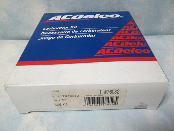 17076032 AC DELCO CARBURETOR KIT NOS