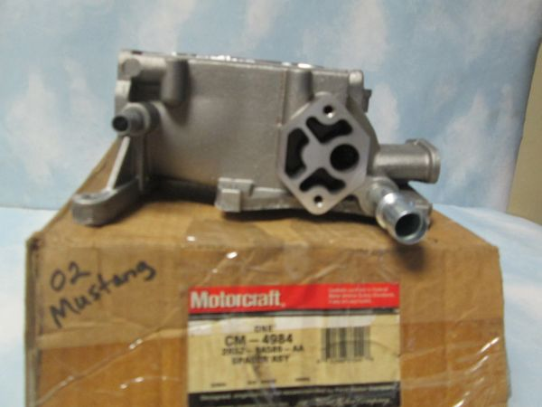 CM-4984 MOTORCRAFT FUEL INJECTION THROTTLE BODY SPACER OEM