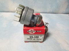 US-100 STANDARD INTERNATIONAL KEYED IGNITION SWITCH NEW LOCK & CYLINDER