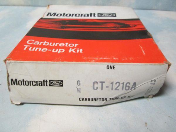 CT-1216A MOTORCRAFT CARBURETOR TUNE-UP KIT NOS