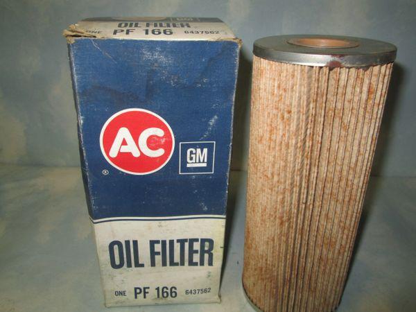 PF166 AC DELCO VINTAGE NOS OIL FILTER