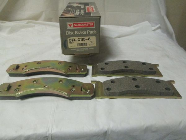 D-33 DISC BRAKE PADS MOTOMASTER FRONT NEW