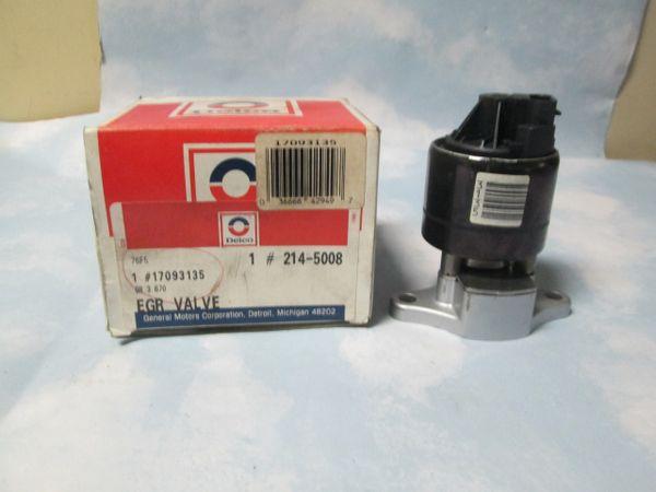 214-5008 (17093135) EGR VALVE GM NEW