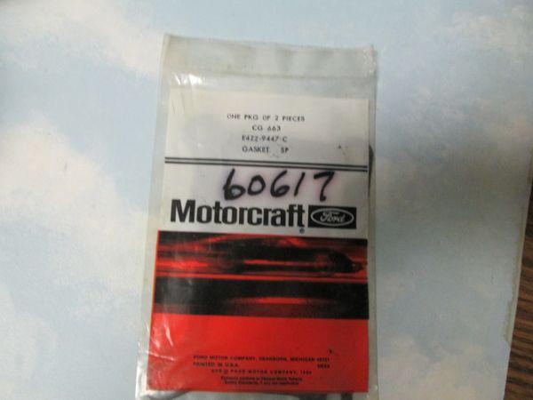 60617 CARBURETOR BASE GASKET MOTORCRAFT NEW