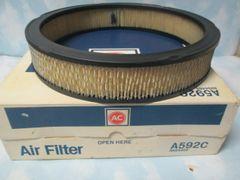 A592 AC DELCO AIR FILTER NOS