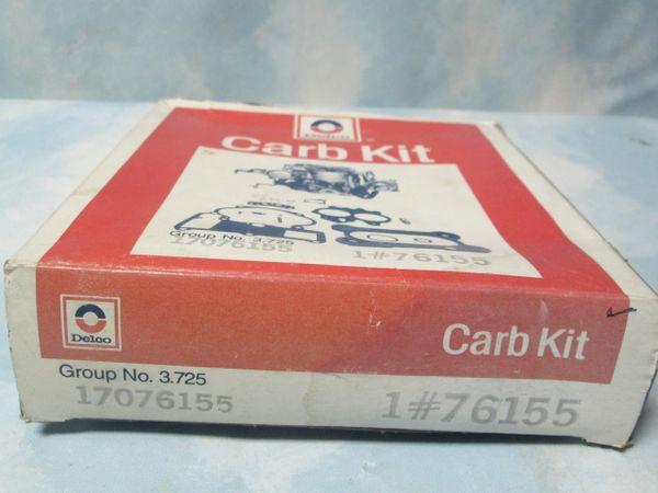 76155 AC DELCO CARBURETOR KIT NEW
