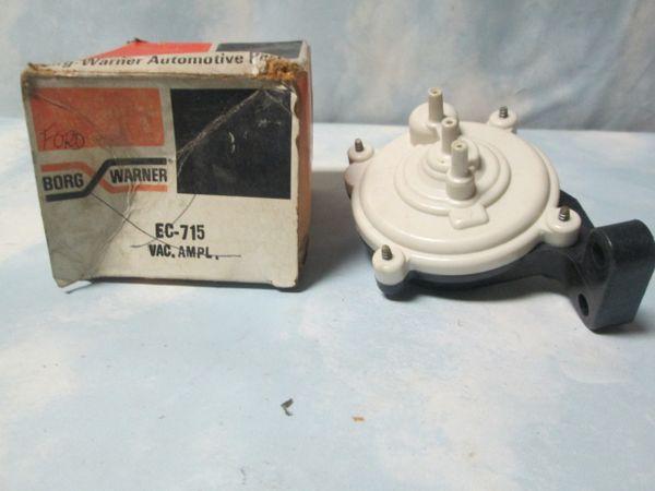 EC-715 BORG WARNER VACUUM AMPLIFIER 1975-1978 MONARCH COMET GRANADA E150/350 NOS