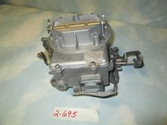 D4TZ-9510-DBX (2-695) 64-79 - 289 302 F150-F250 FORD JEEP CARBURETOR MANUAL REMAN