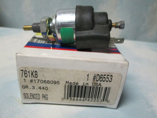D6553 AC DELCO CARBURETOR IDEL CONTROL SOLENOID NEW