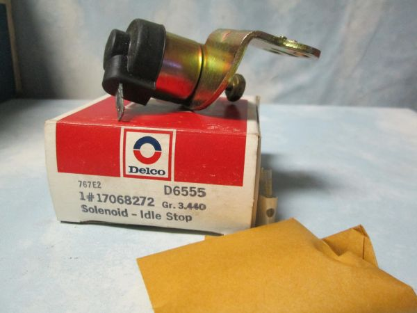D6555 AC DELCO CARBERATOR IDEL SOLENOID NEW