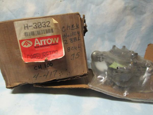 4-417 ARROW H-3032 HOLLEY CHRYSLER CARBURETOR NOS