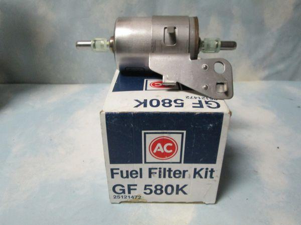 GF580K AC DELCO CHEVY CADILLAC BUICK 4.3L 5.0L 5.7L FUEL FILTER NEW