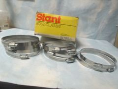 SC80 STANT TRUCK HOSE CLAMPS BOX OF 10 NEW