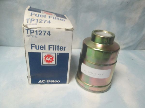 TP1274 AC DELCO GMC DIESEL FUEL FILTER NEW