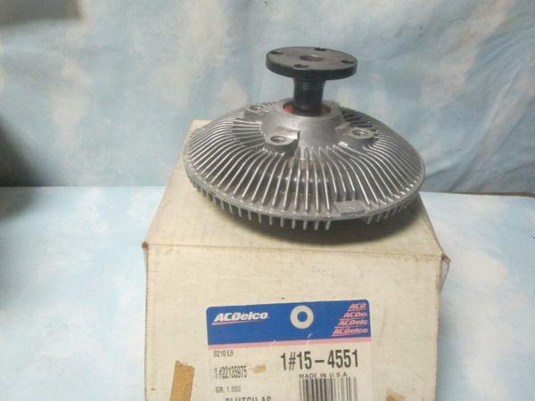 15-4551 AC DELCO FAN RADIATOR CLUTCH NOS