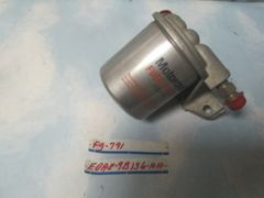FG-791 FUEL FILTER LINCOLN CONTINENTAL MOTORCRAFT WITH ATTACHED BRACKET E0AE-9B136-AA NOS