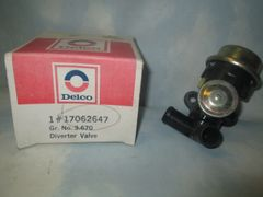 17062647 AC DELCO AIR INJECTION BY PASS DIVERTER NEW 79-85