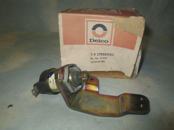 17068550 AC DELCO GM CARBURETOR IDEL SOLENOID NOS