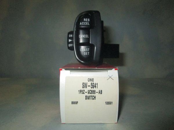 SW-5941 MOTORCRAFT (1F5Z-9C888-AB) CRUISE CONTROL SWITCH NEW