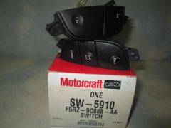 SW-5910 MOTORCRAFT 97-95 FORD CONTOUR MYSTIQUE (F5RZ-9C888-AA) CRUISE CONTROL SWITCH NEW